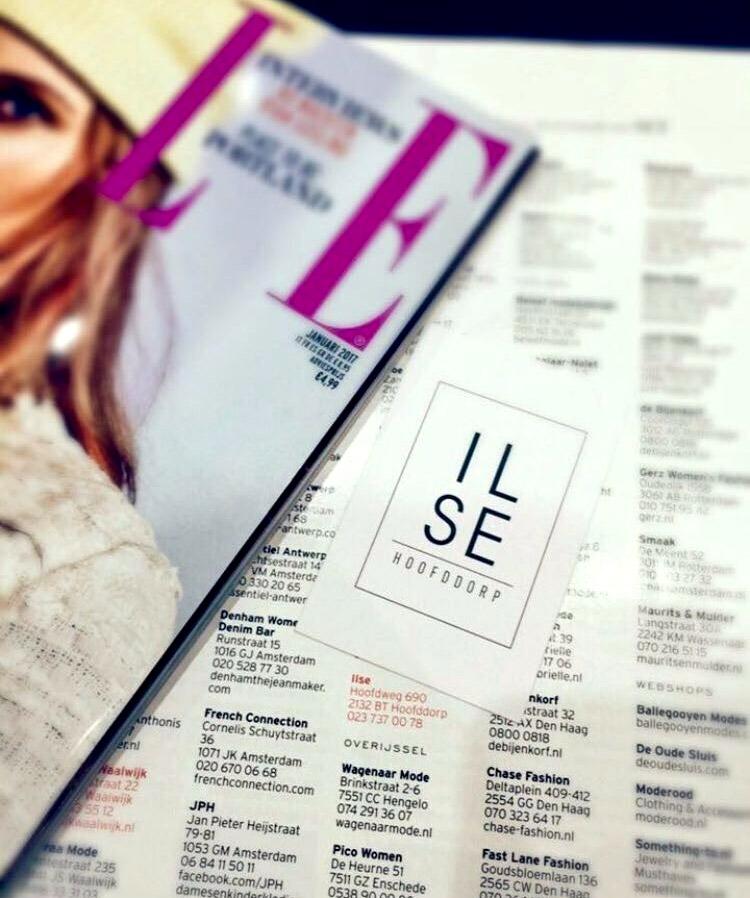 ILSE In ELLE! Magazine