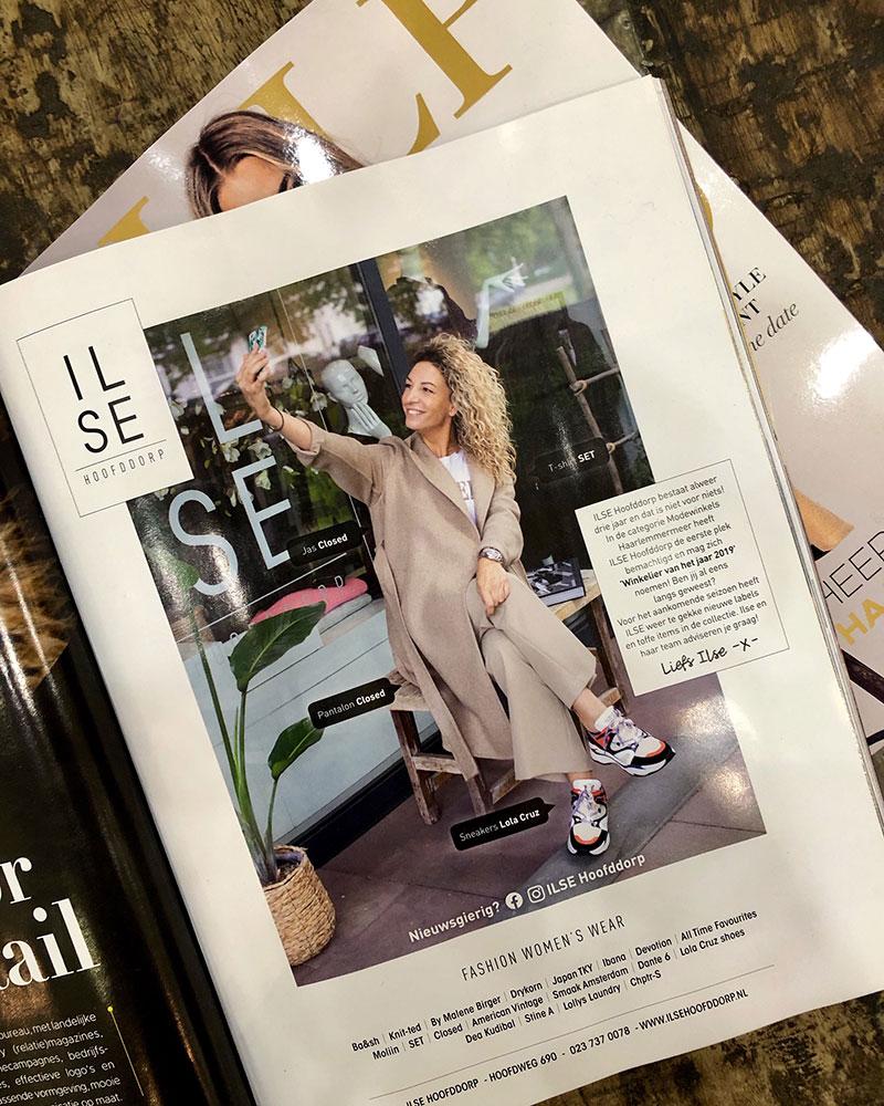 ILSE Weer In Het TULP Magazine!