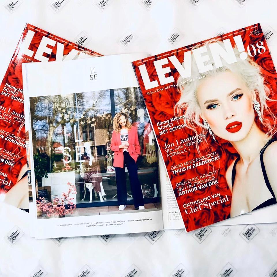 ILSE Weer In Het Leven! Magazine